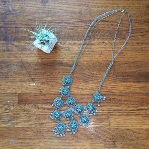 Jewelry - Vintage Bohemian Statement Necklace